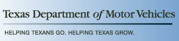 Texas Department of Motor Vehicles